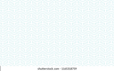 Seamless pattern with arrows motif. Minimalist abstract background. Simple modern print with pointers. Vector eps10.