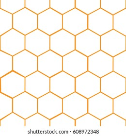 Seamless pattern, background with octagon shapes.