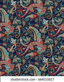 Seamless pattern based on traditional Asian element