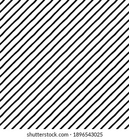Seamless pattern. Black lines, diagonal structure.