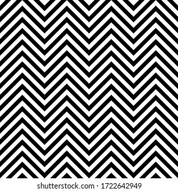 Seamless pattern with black and white geometric shape