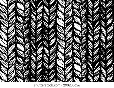 Seamless pattern of braids, endless texture, stylized sweater fabric. Texture for web, print, wallpaper, fall winter fashion, textile design, website background, holiday home decor