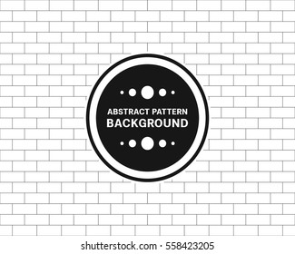 seamless pattern brick vector illustration