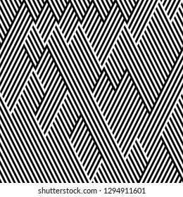 seamless pattern of broken lines
