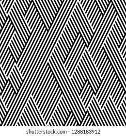 seamless pattern of broken oblique lines