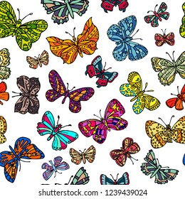 Mariposas Volando Stock Vectors Images Vector Art Shutterstock
