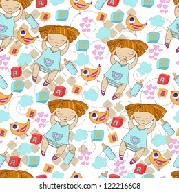 Seamless pattern can be used for wallpaper, pattern fills, web page background,surface textures.