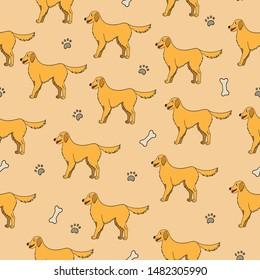 Golden Dog Cartoon Images Stock Photos Vectors Shutterstock