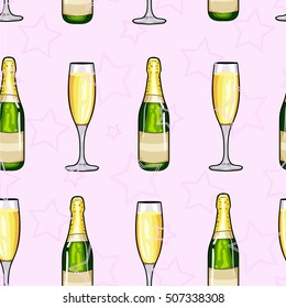 Champagne Cartoon Images Stock Photos Vectors Shutterstock