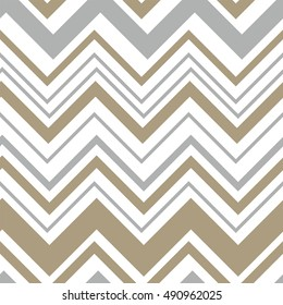 Seamless pattern with chevron design
