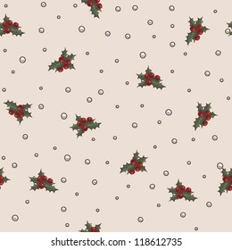 Seamless pattern Christmas and New Year theme