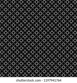 Seamless pattern of circles. Geometric background. Vector illustration. Good quality. Good design.