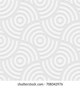 Seamless pattern of circles. Geometric background. Vector illustration. Good quality. Good design.