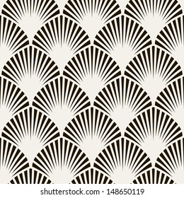 Seamless pattern. Classical antique ornament. Geometric stylish background. Vector repeating texture