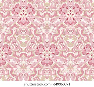 Seamless pattern consisting of abstract shapes. Useful as design element for texture and artistic compositions.