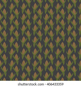 Seamless pattern from corn.