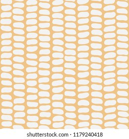 Seamless pattern of corn grains