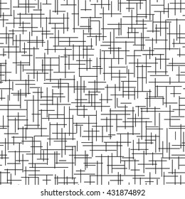 Seamless pattern with cross lines