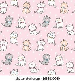 Cute Pink Cat Images Stock Photos Vectors Shutterstock