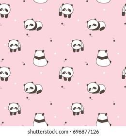 Panda Pattern Images Stock Photos Vectors Shutterstock