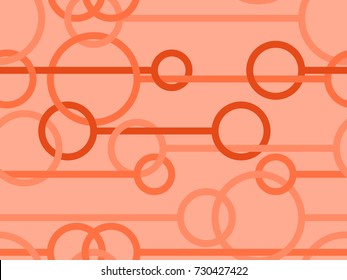 Seamless pattern in Deep Orange from the Material Design palette
