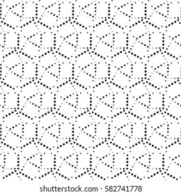 Seamless Pattern with Dots.