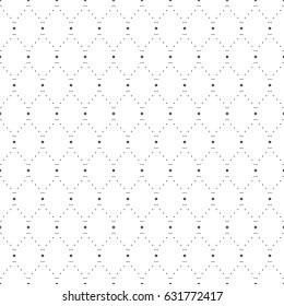 Seamless pattern of dots. Geometric wallpaper. Unusual lattice. Vector illustration. Good quality. Good design.