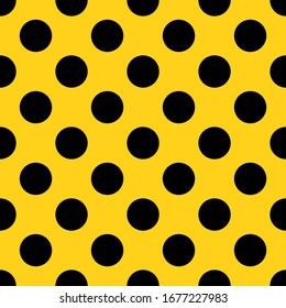 Seamless pattern with dots. Vector illustration.