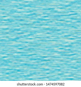 Seamless pattern dyed tri colored blend stripes background. Woven T shirt fabric texture. Melange repeat vector swatch.