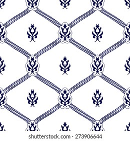 Seamless pattern in Eastern style. Vector illustration