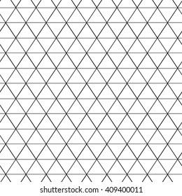 Seamless pattern of equilateral triangles, Vector