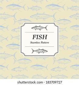 Seamless Pattern - Fish