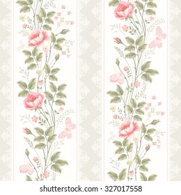 Imagenes Fotos De Stock Y Vectores Sobre Papel Tapiz Floral