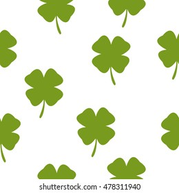 Clover Leaves Vector Set Collection On Stock Vector Royalty Free