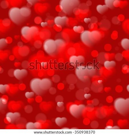 Fuzzy Heart Art Project