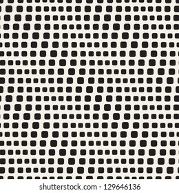 Seamless pattern. Geometric pattern with diagonal dots. Vector repeating texture