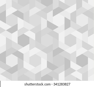 Seamless pattern of geometric shapes. Geometric background.