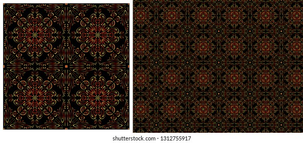 Seamless pattern - Geometrical ornament