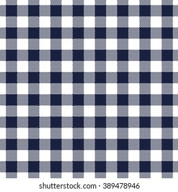Seamless pattern gingham