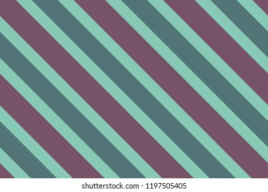 Seamless pattern with green stripes. Striped diagonal pattern for printing on fabric, paper, wrapping, scrapbooking, websites Background with slanted lines Vector illustration
