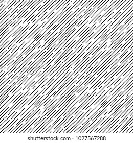Seamless pattern of hand drawn sketches inclined parallel hatching grunge texture. vector illustration