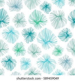 Seamless pattern with hand drawn textures.