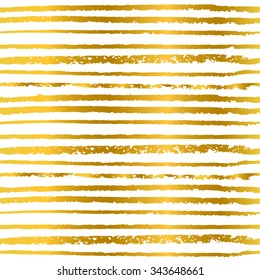 Seamless pattern hand-drawn line in golden color, background for invitations and greeting cards