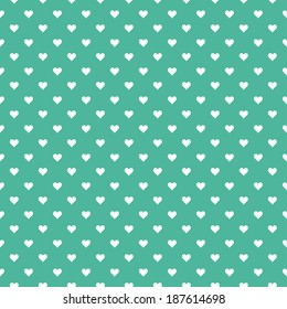 Seamless pattern with hearts. Vector illustration. Background.