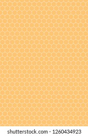 Seamless pattern with hexagon created in flat style. This abstract background is saved as a vector illustration in the EPS file format and can be used as a graphic element for your design.