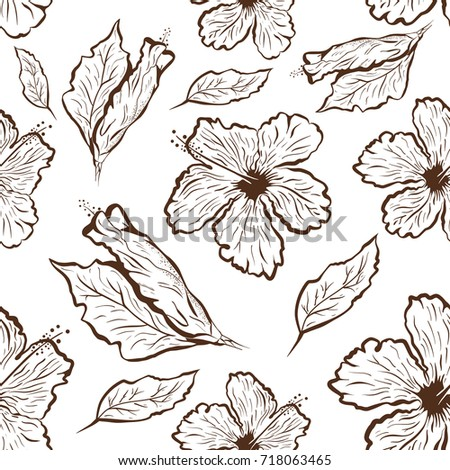 Hibiscus Flower Hawaiian Flower Tattoos