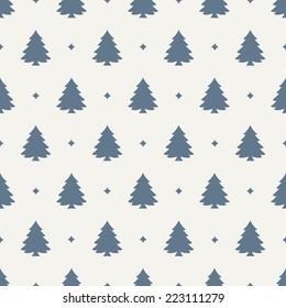 seamless pattern. holiday. christmas tree
