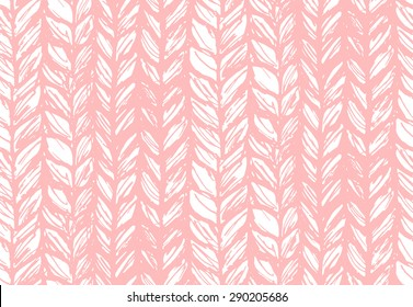 Seamless pattern of knitting braids, endless texture, stylized sweater fabric. Texture for web, print, wallpaper, fall winter fashion, textile design, website background, holiday home decor, fabric