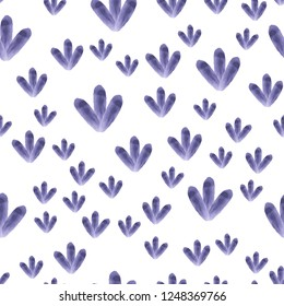 Seamless Pattern made of stylish figures Mostly desaturated dark blue color. Elements are not cropped. Pattern under the mask. Perfect design for textile, box, posters, cards etc. Vector.