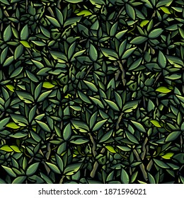 Seamless pattern of mint, leaves, leaf, herb, aroma, flavour, cartoon style, menthol, green, foliage, wallpaper, gift paper, print, fabric, for clothes, greeting, congratulations, tea, field, mint